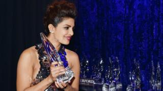 Priyanka Chopra with her People's Choice Award