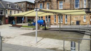 Canopy in Cameron Square, Fort William