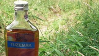 A bottle of Tuzemák