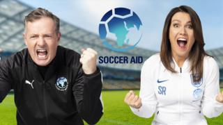 Piers Morgan and Susannah Reid will manage the International Team