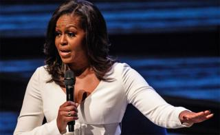 Michelle Obama at the Royal Festival Hall