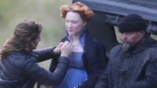 Saoirse Ronan as Mary, Queen of Scots