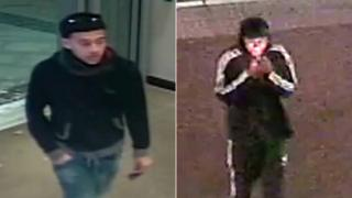 Derbyshire Police would like to trace these two men