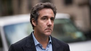 Trump attacks Michael Cohen over 'Playboy model payment tape'