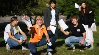 science Students celebrate GCSE results