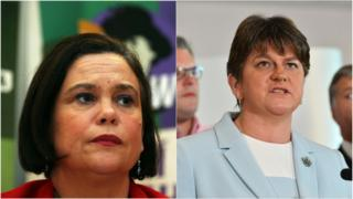 Arlene Foster and Mary Lou McDonald