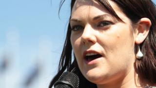 Australian Greens Senator Sarah Hanson-Young