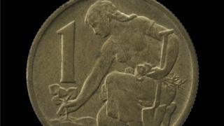 Чешская монета