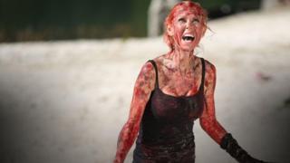 Tara Reid in Sharknado