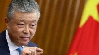 中國駐英國大使劉曉明資料圖片