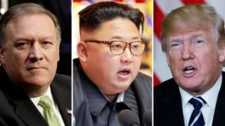 Mike Pompeo, Kim Joung, Donald Trump