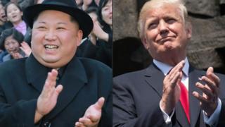Kim dan Trump