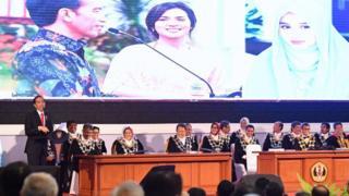 Presiden Jokowi di Dies Natalis Unpad