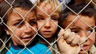 أطفال سوريون في المخيمات الأردنية