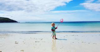Jude at the beach