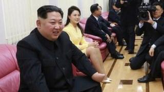 Kim Jong-un. líder de Corea del Norte