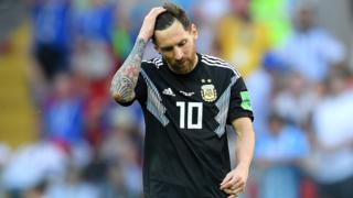 For di World Cup 2018 Lionel Messi miss penalty against Iceland