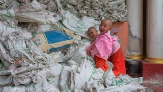 Children in Mandalay