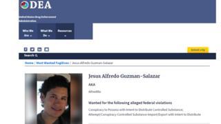 Ficha de la DEA sobre Alfredillo.
