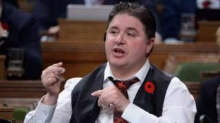 Le ministre canadien des Sports, Kent Hehr