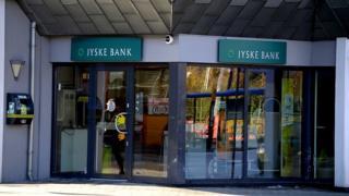 Отделение банка Jyske в Копенгагене