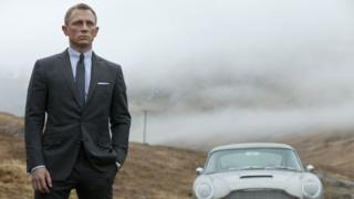 Daniel Craig as James Bond in 2012's 007 movie Skyfall