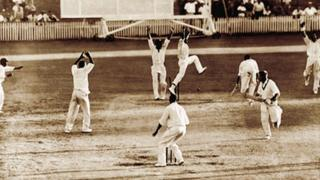 Tied Test Match in 1960