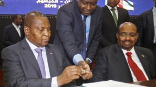 Centrafrique, Soudan, paix, groupes armés