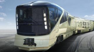 Trem de luxo japonês