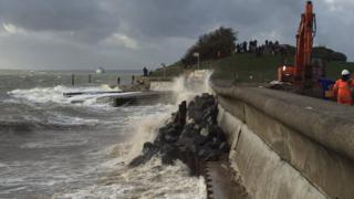 Southsea seal wall hole