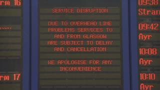 Delays at Glasgow Central