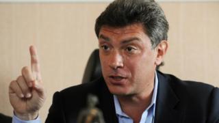 Russian opposition politician Boris Nemtsov pictured in 2009