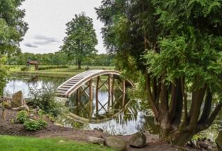 Japanese garden at Cowden near Dollar.