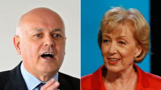 Iain Duncan Smith and Andrea Leadsom