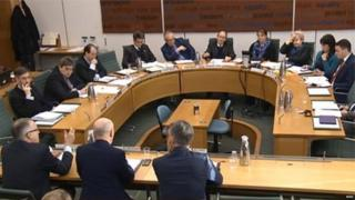 Commons Treasury Committee in session