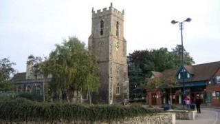 St Mary the Virgin Church in Haverhill