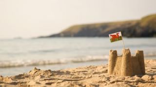 Beach in Wales