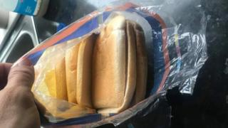 Kingsmill loaf full of crusts