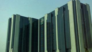 Central Bank of Nigeria head office.