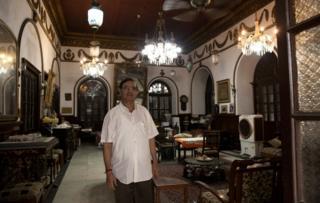 A room in Lala Chunnamal's haveli (mansion)