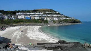 Dolau Beach, New Quay