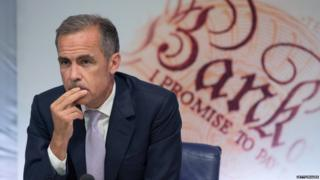 Mark Carney, pictured 6 August 2015
