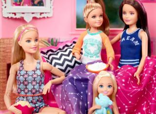 Barbie and her siblings in image released by Mattel