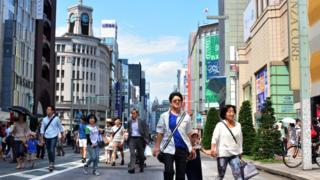 japan shoppers
