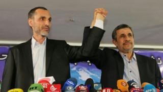 محمود احمدی نژاد نامزدی خود در انتخابات را رد و از نامزدی حمید بقایی حمایت کرد