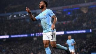 Raheem Sterling na Manchester City