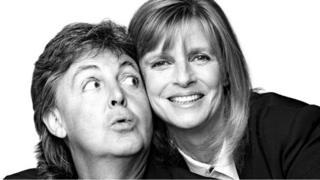Sir Paul and Linda McCartney