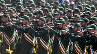 رژه سپاه در سال 2013 در تهران
