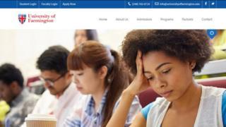 Universidad de Farmington: la escuela falsa que creó migración de EE.UU. para atraer estudiantes extranjeros y luego deportarlos - BBC News Mundo