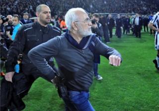 PAOK Başkanı İvan Savvides